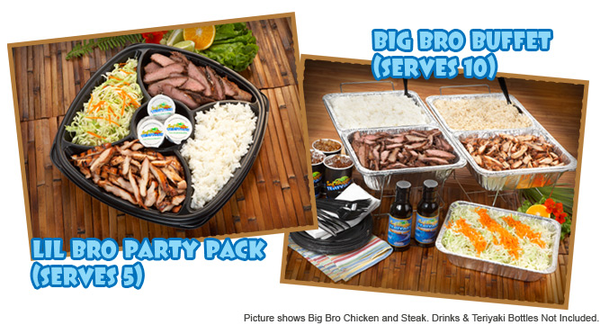 Lil Bro Party Pack and Big Bro Buffet
