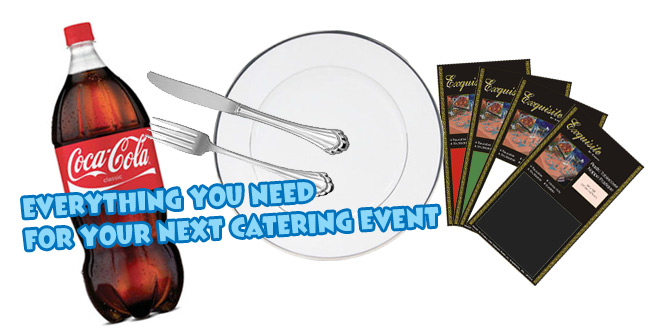 Eveything you need for your next catering event